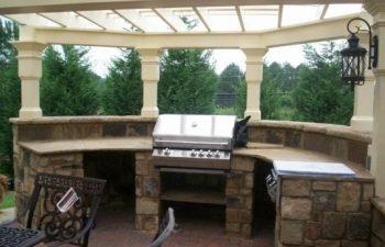 Outdoor Kitchen Area,